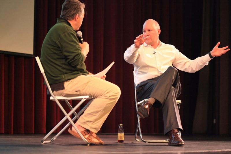 Paul Graham mit Marc Andreessen